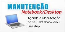 Agende a manutenção de notebook ou desktop